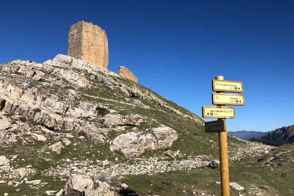 Red de senderos locales de Cazorla